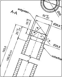 Fertigung von CNC-Drehteilen