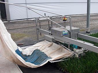 Stutzgestell für EazyCut Schneidemaschine - Auffangsack